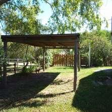 Cochera y Jardín