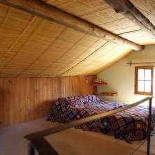 Dormitorio matrimonial en entrepiso