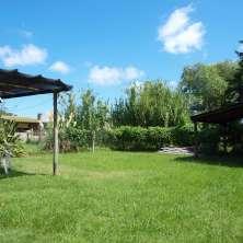 Parrillero y jardín