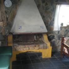 Estufa a leña cabaña 6p