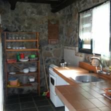 Cocina cabaña 6p