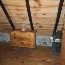 Dormitorio principal cabaña 6p