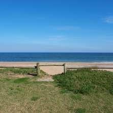 Acceso directo a la playa desde la propiedad