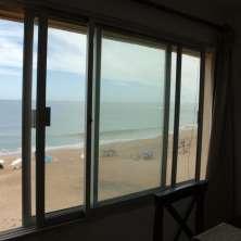 Vista al mar desde Comedor