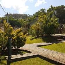 Jardín y caminos exteriores