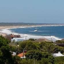 Vistas aereas del jardín y playas oceánicas
