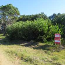 Plot for sale on a main access road in San Antonio coastal resort a few  meters from the beach