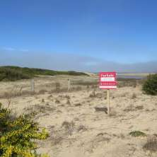 Lot for sale in first line from the shore with gorgeous ocean views in Punta Rubia resort