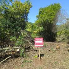 Land lot for sale in the peaceful resort called Punta Rubia, just two blocks from the oceanic beach