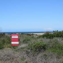 Opportunity of land plot for sale in First Line from the coast in Santa Isabel seaside resort