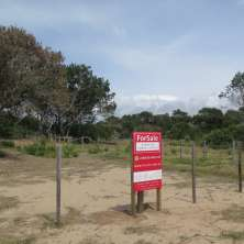 Really nice lot for sale located meters from the oceanic beach in Santa Isabel de La Pedrera
