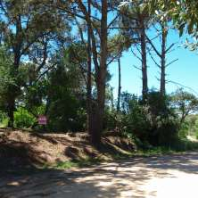 Nice land lot for sale just one block from the main street in La Pedrera beach resort, ready to build-in