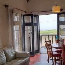 Living comedor con vistas a la playa