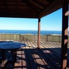Deck con espectaculares vistas