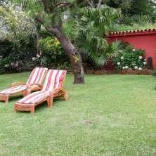 Jardín con gran privacidad