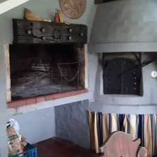 Parrillero y horno de barro