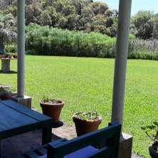 Galería con vistas jardín