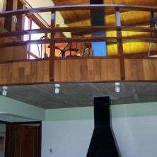 Balcón desde el segundo piso