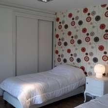 Dormitorio con placares