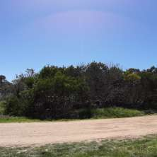 Plot for sale located a few blocks from Los Botes beach in La Paloma seaside resort