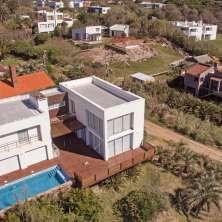 Vista aérea de la propiedad